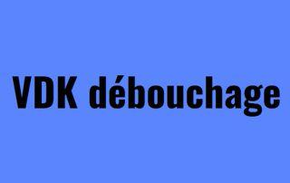 Vdk debouchage logo